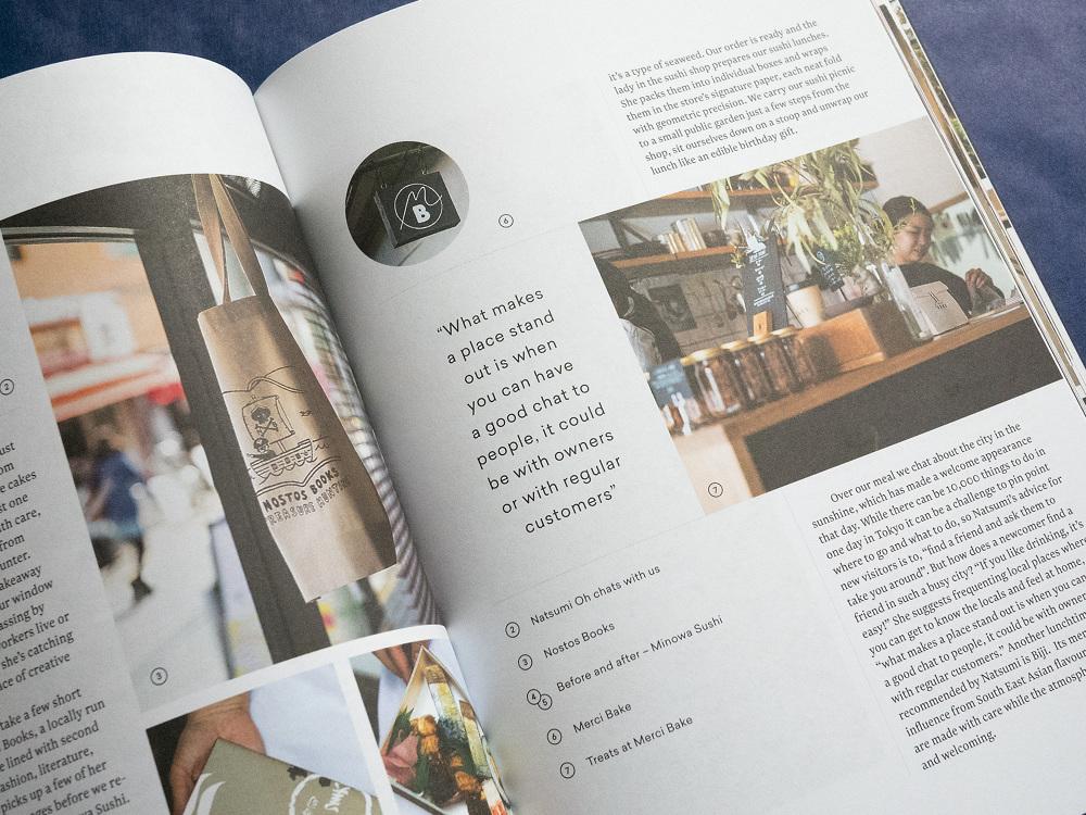 Amble Magazine - Dan Vaughan - jewelry brochure