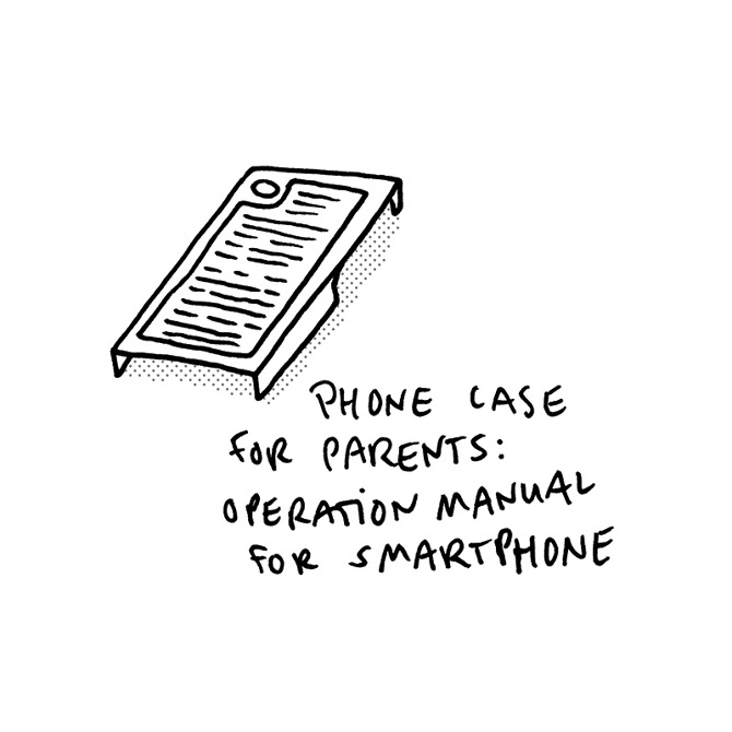 phone-case-operation-manual - Recreate everything Sebastian Jung - operation manual