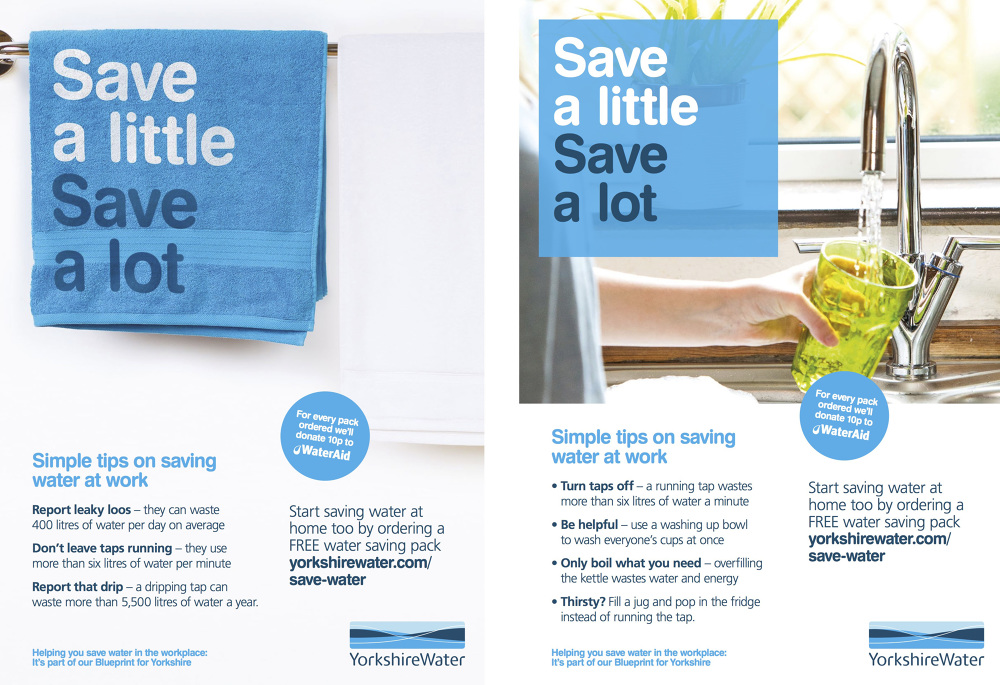 Yorkshire Water - Save a little, save a lot campaign - Darren Navier