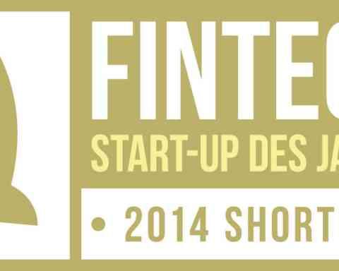 Nominiert FinTech StartUp des Jahres 2014