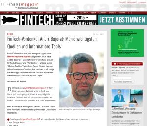 Wie lese/finde ich News – ein paar Tipps auf IT-Finanzmagazin