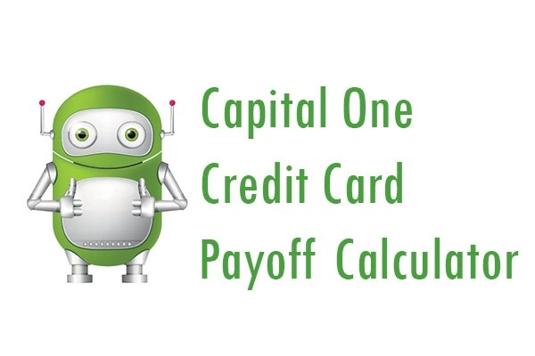 Capital One Credit Card Payoff Calculator - Pay My Bill Guru