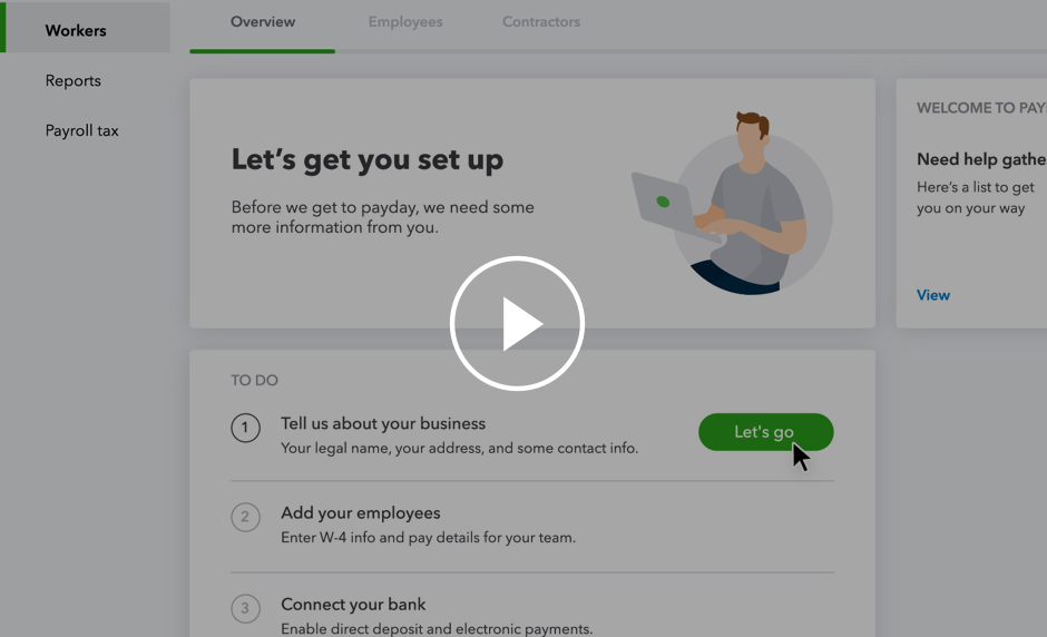 Intuit Full Service Payroll Small Business Payroll Done for You
