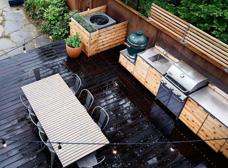 Amenagement Barbecue Exterieur Terrasse Barbecue Exterieur