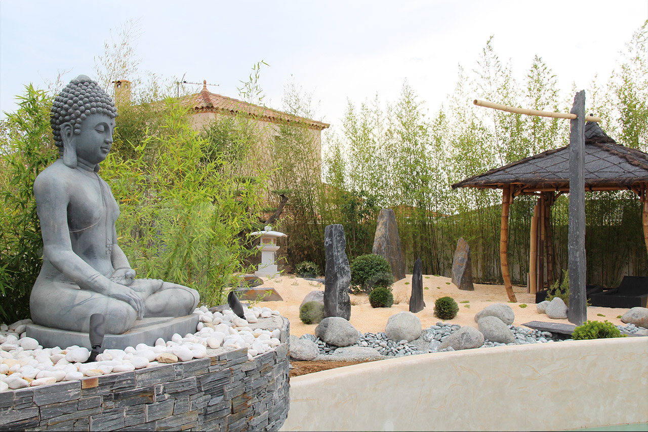 Amenagement Terrasse Montpellier Jardin Zen