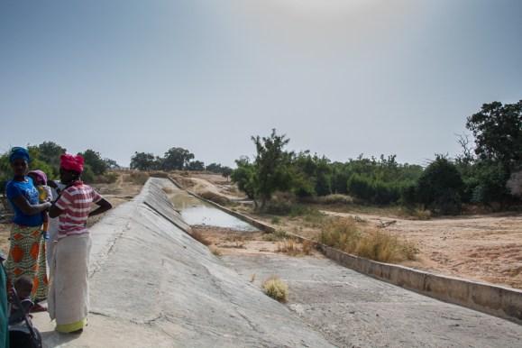 Le barrage de Sare Moussa - Tambacounda - Sénégal
