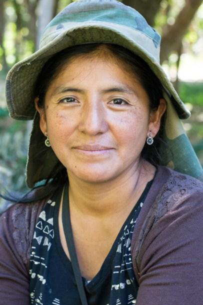 Projet ONG IPTK à Sucre - Emiliana Reynaga, agronome pour l'ONG - http://paysansdavenir.com/rencontre-avec-lagronome-emiliana-reynaga-travaillant-pour-long-iptk-pres-de-sucre/