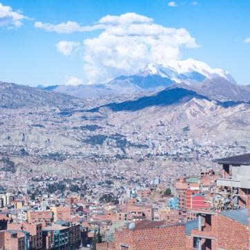Promenade en téléphérique à La Paz