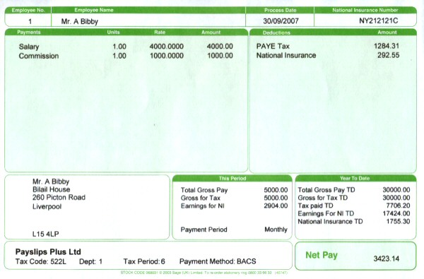 Payslip Format In Excel Free Download. 10+ Payslip Templates Word