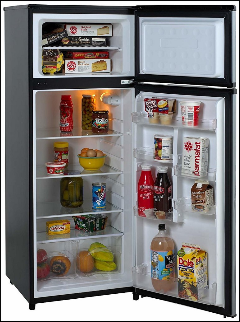 Apartment Size Refrigerator With Ice Maker