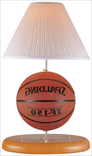 Basketball Themed Lamps