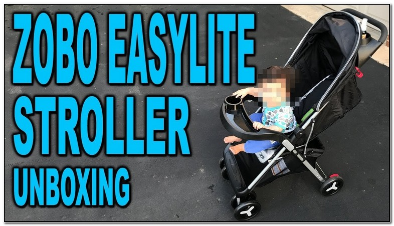 Lightweight Stroller Best 2018 How To Fold Zobo Easylite Stroller Design Innovation