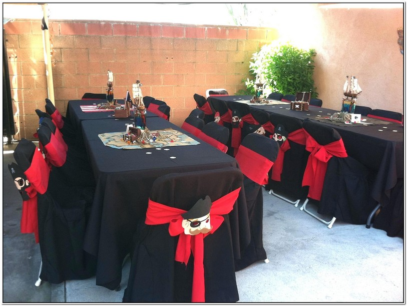 Black Disposable Table Cloths