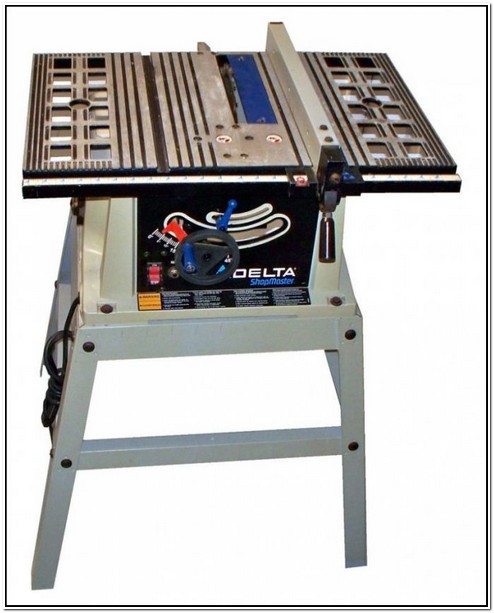 Delta Shopmaster Table Saw Manual