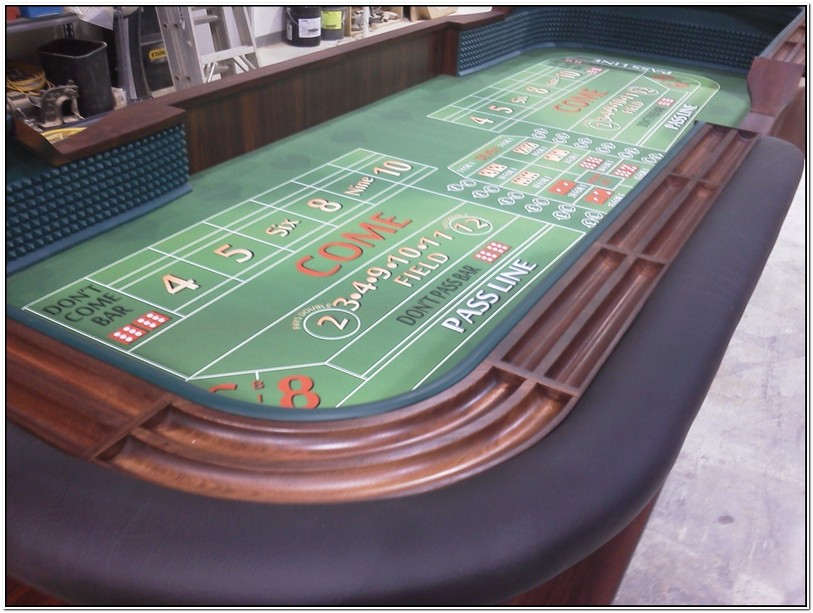 Full Size Craps Table For Sale