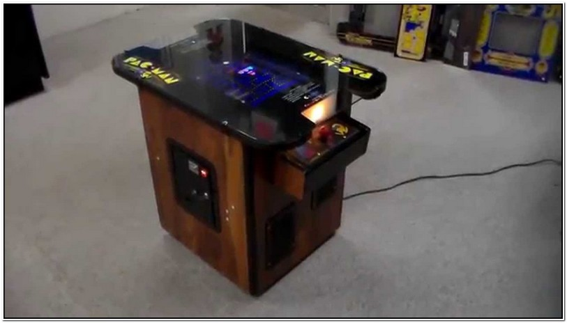 Retro Video Game Coffee Table