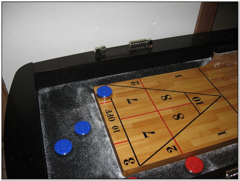 Table Shuffleboard Rules And Regulations