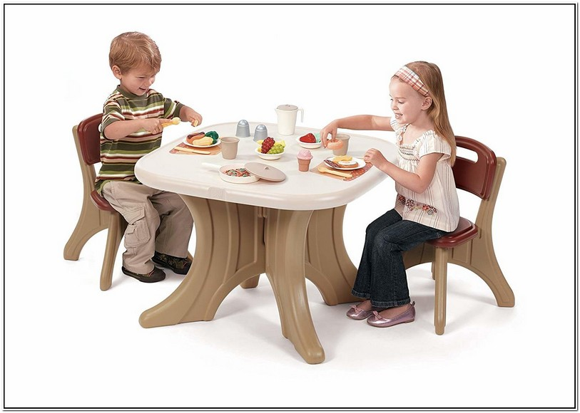 Used Step2 Table And Chairs
