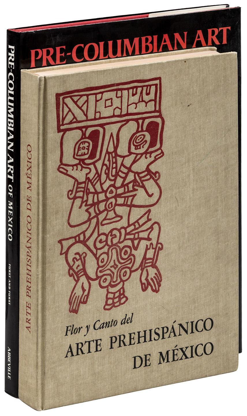 Arte Of Mexico Two Volumes About Pre Columbian Art In Mexico Price Estimate