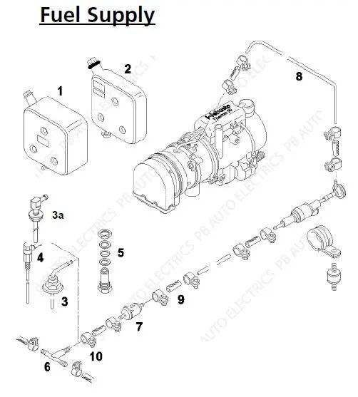 webasto water heater wiring diagram