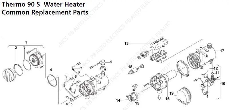 polar 4 stroke engine diagram