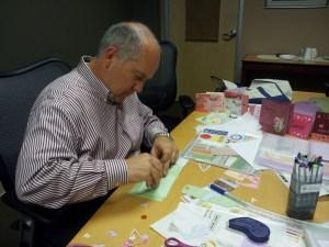 Pisenti Brinker Staffers Make Valentines For Petaluma