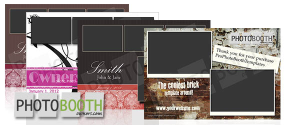 New Photo Booth Template Design Shop for Photo Booth Owners - po booth template