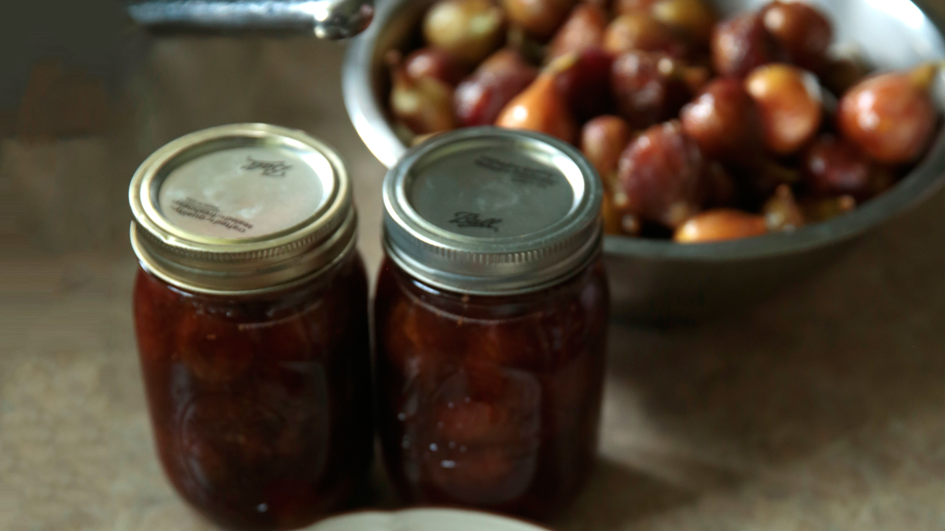 Food Recipe Preservation Fig And Lemon Preserves Recipe Pbs Food