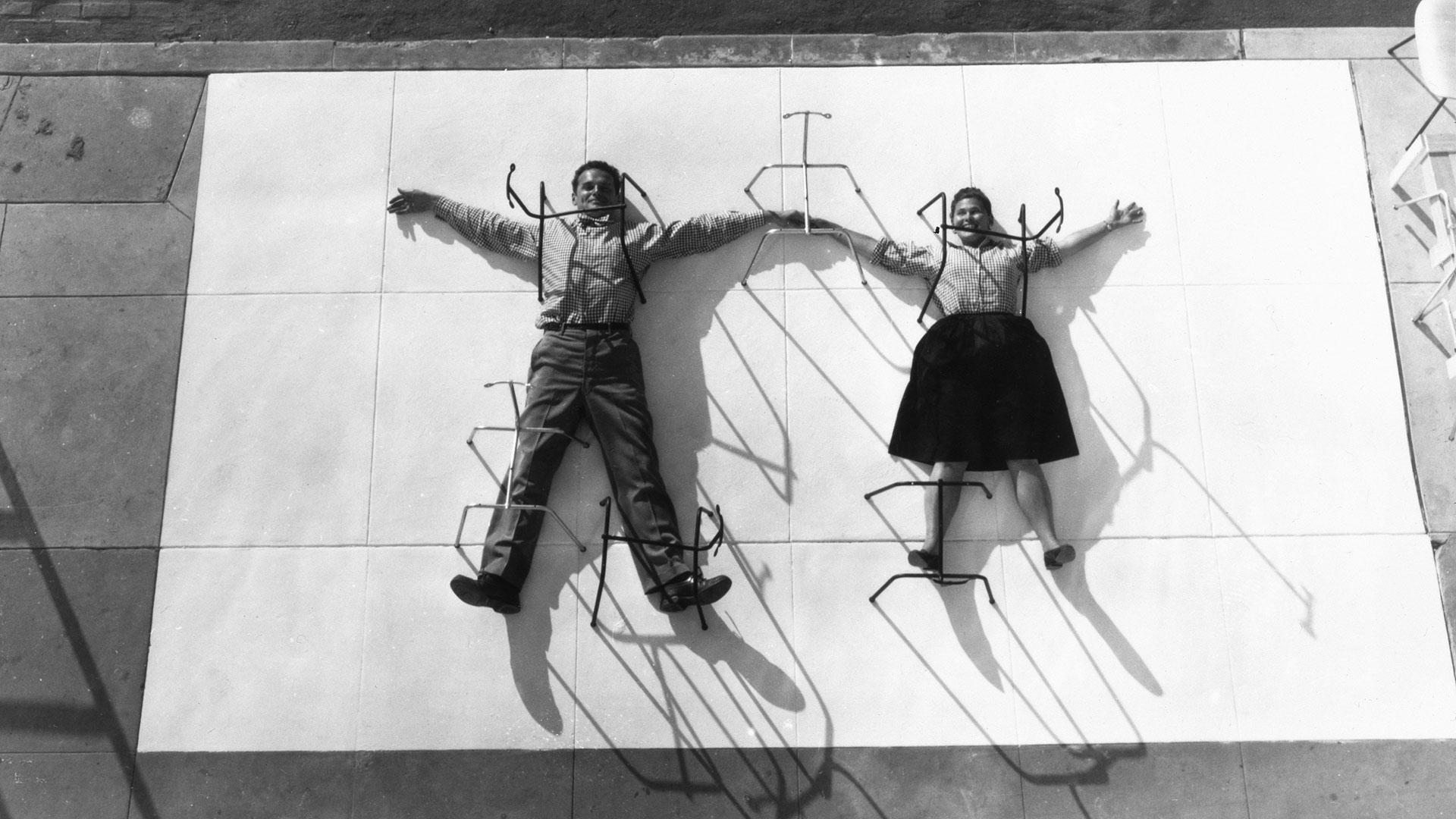 Ray And Charles Eames Charles Ray Eames The Architect And The Painter