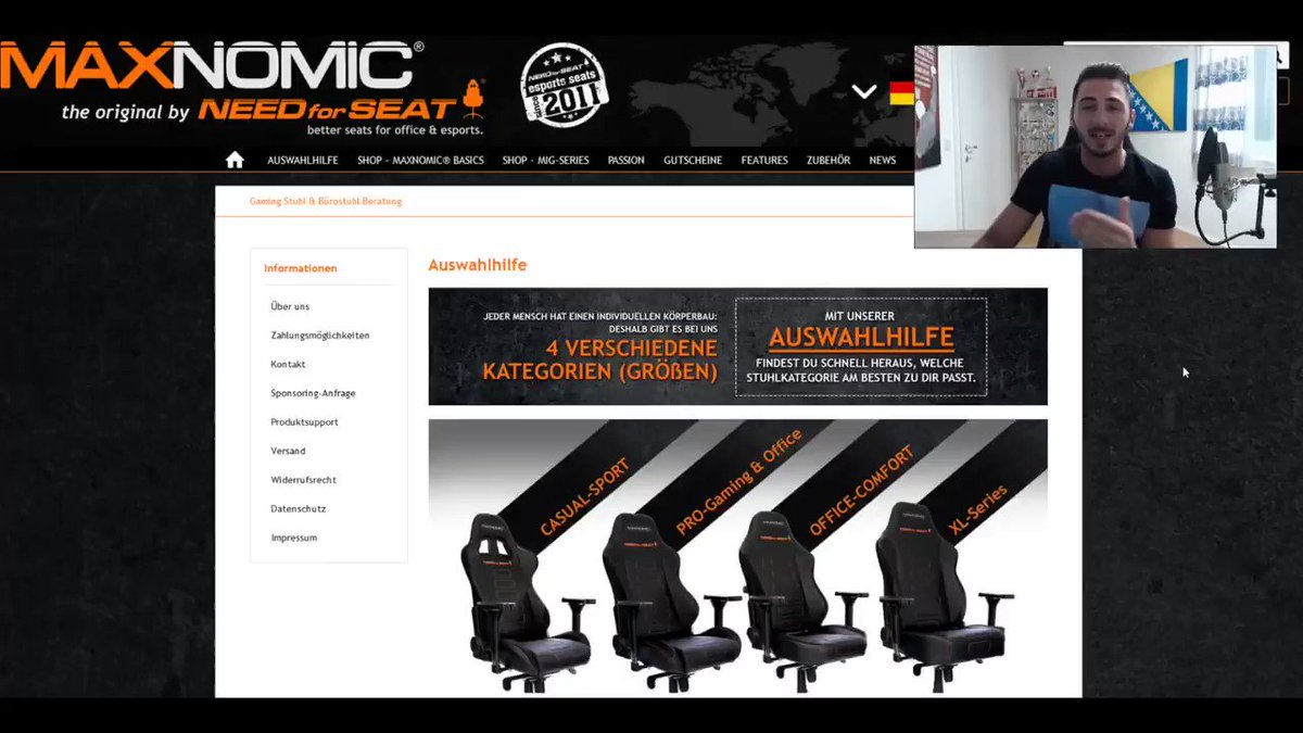 Maxnomic Gutschein Needforseat Deutschland On Twitter
