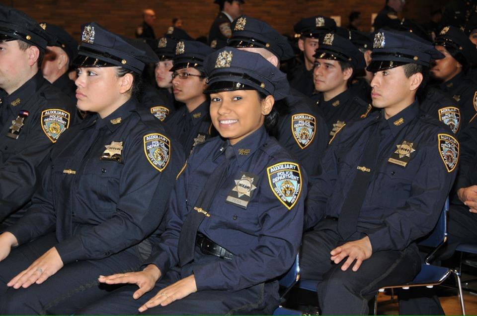 Over 140 new auxiliary police officers graduated in a ceremony at