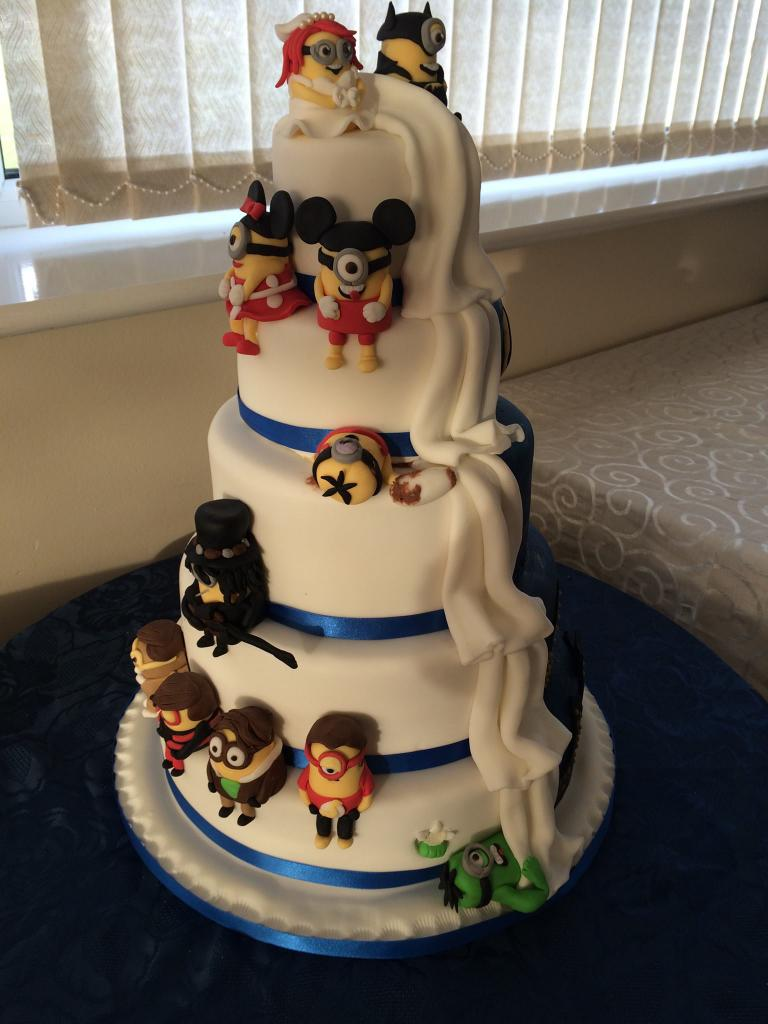 Fullsize Of Batman Wedding Cake