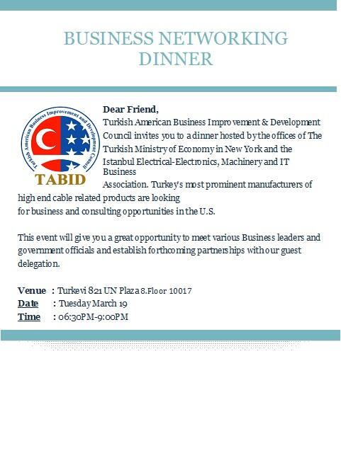 TABID on Twitter  - business meet and greet invitation wording