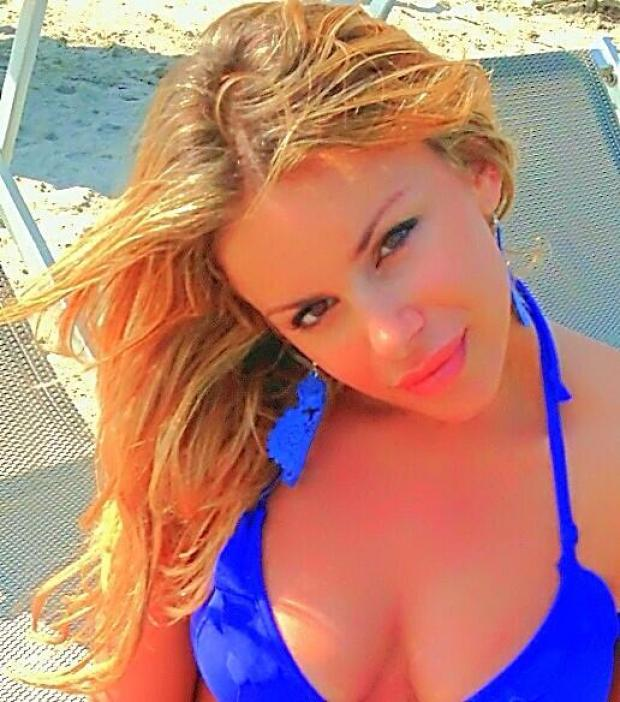 BSSXpjSIEAALRtb Playboy model Veronica Graf says she cheated on Inters Saphir Taider in a foursome with the Balotelli brothers