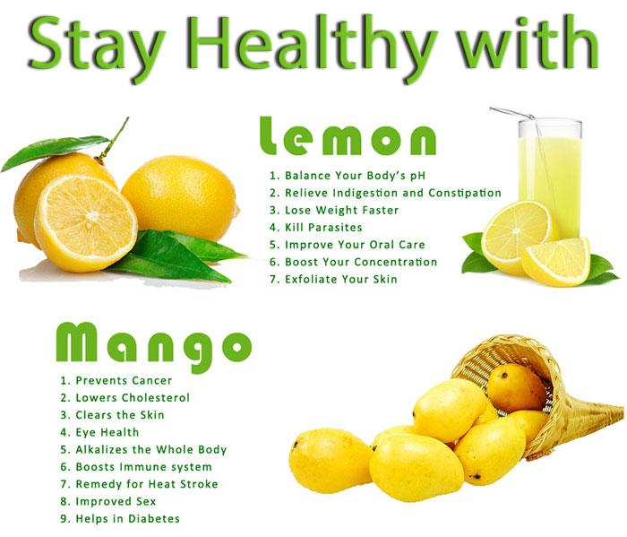 Lose Weight Quotes Wallpaper Stay Healthy With Lemon And Mango Health Fruits Tips