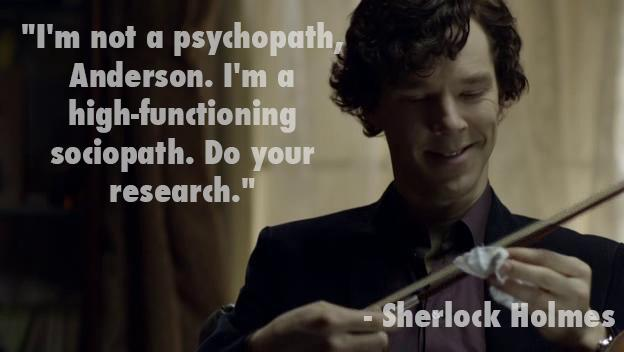 Sherlock Bbc Quotes Wallpaper Bad Robot On Twitter Quot Quot I M Not A Psychopath Anderson I