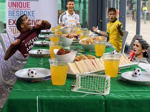 Cristiano Ronaldo Neymar Adnan Januzaj Carlos Tevez