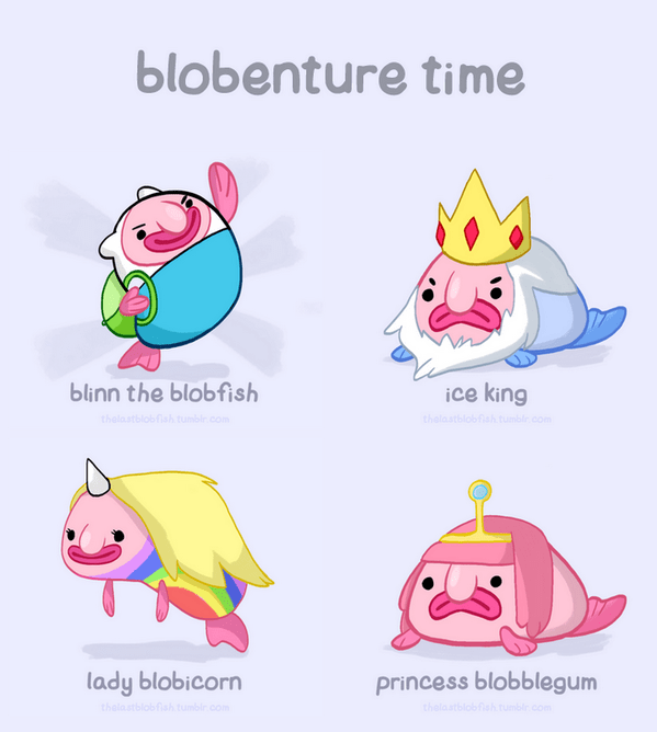 Cute Blobfish Wallpaper Blobby The Blobfish On Twitter Quot Blobenture Time Http T
