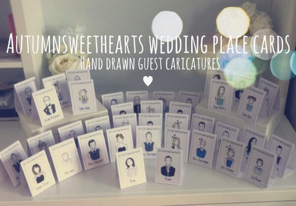 Autumn Sweethearts on Twitter \ - buy place cards