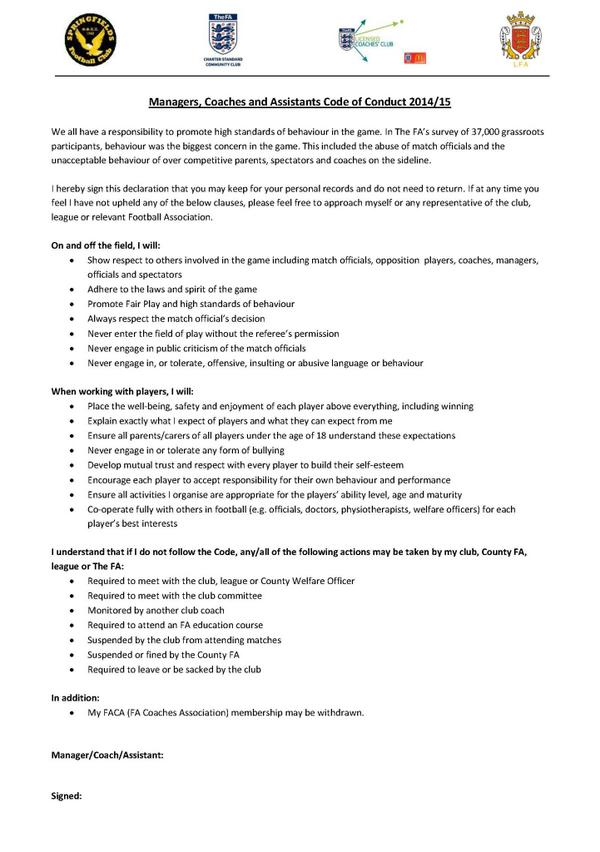 Code Of Conduct Example Code Of Conduct Sample Code Of Conduct Cds