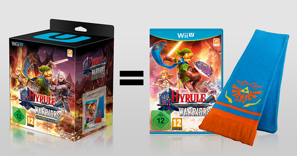 Hyrule Warriors Limited Edition Comes With A Scarf New