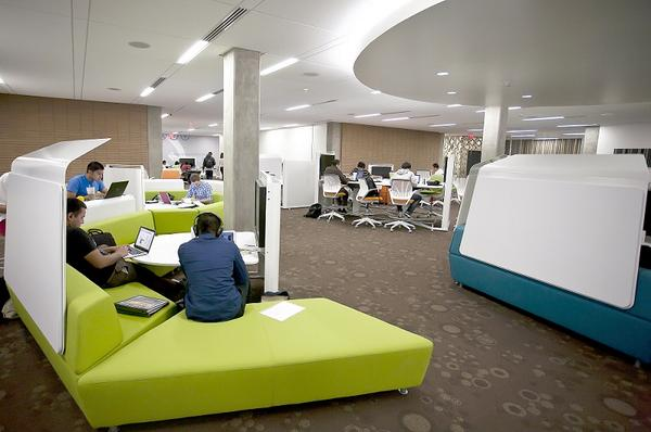 Academy Spaces Academy for Innovation and Entrepreneurship - innovatives interieur design microsoft