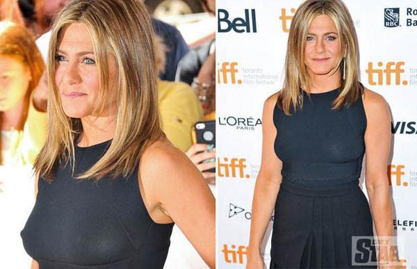 Flashbulb Flasher Jennifer Aniston Suffers Awkward