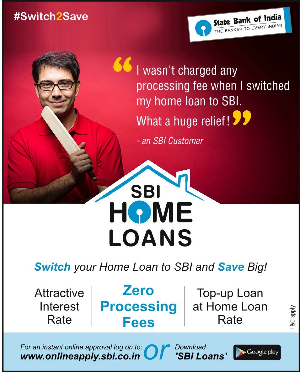 Bank For Home Loan In India State Bank Of India On Twitter