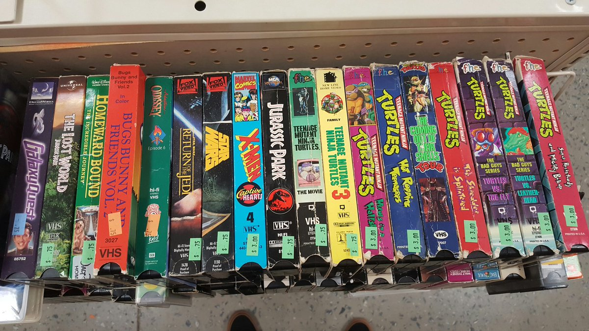 Lgr On Twitter Quotman This Vhs Shelf At Goodwill Is Like