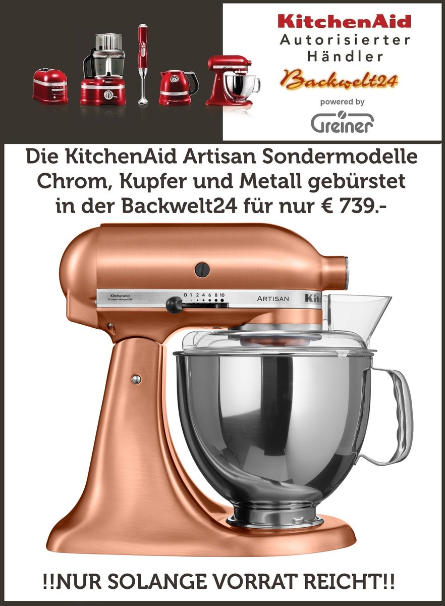 Kitchenaid Küchenmaschine Video 5ksm150ps Hashtag On Twitter