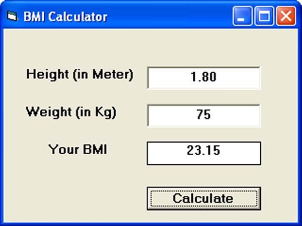 Everyone Active on Twitter \ - bmi calculation formula