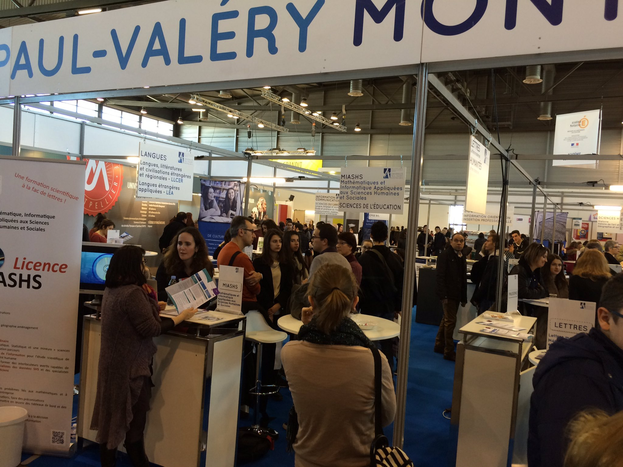 Salon étudiant Montpellier Yann Bisiou On Twitter Quotgrosse Affluence Au Salon De L