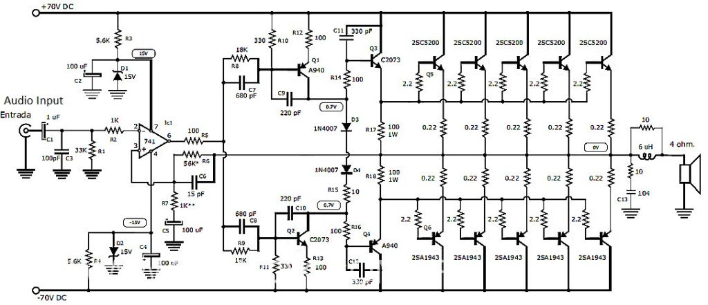 bass treble circuit diagram 4558 pdf