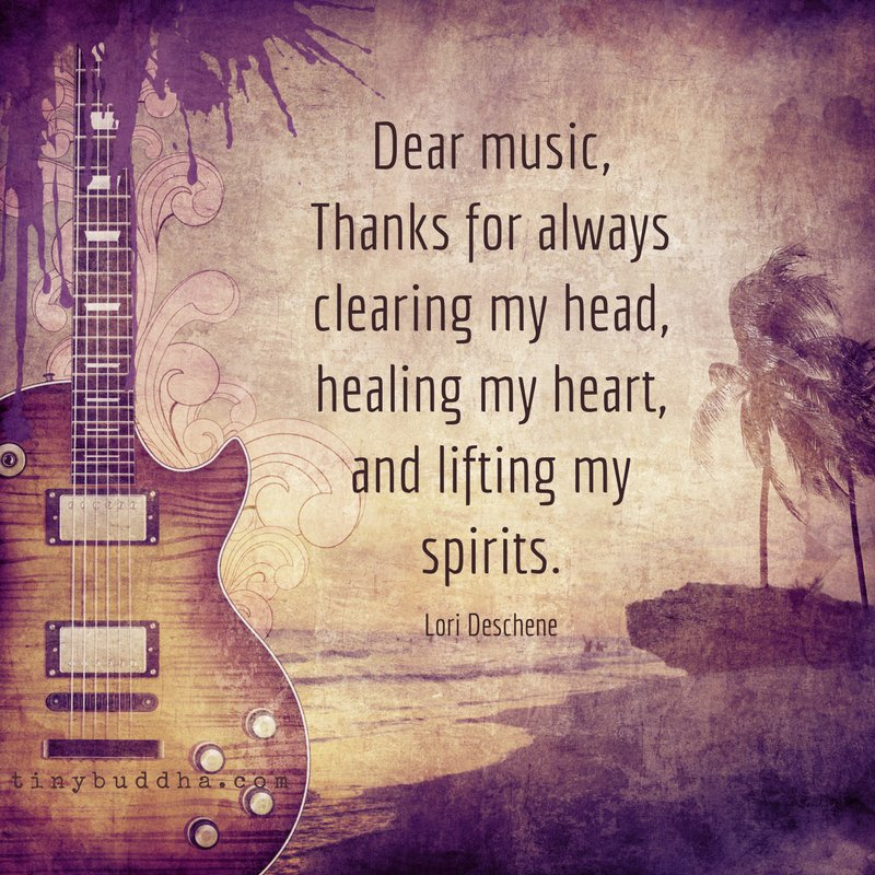 Buddha Quotes Wallpaper In English Quot Dear Music Thank You For Always Clearing My Head